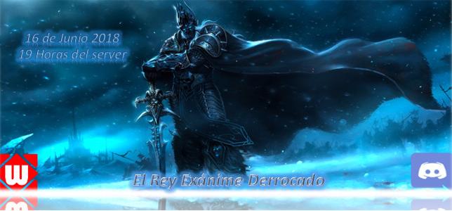 El rey exanime derrocado