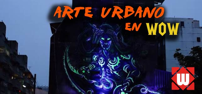 Arte urbano de WoW